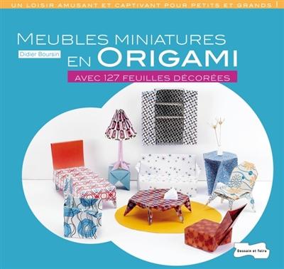 Meubles Miniatures en Origami_Activités_Expressionsdenfants