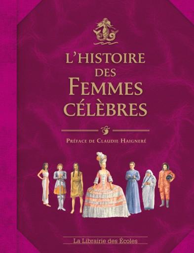 L'histoire des femmes célèbres_La librairie des écoles_Expressionsdenfants