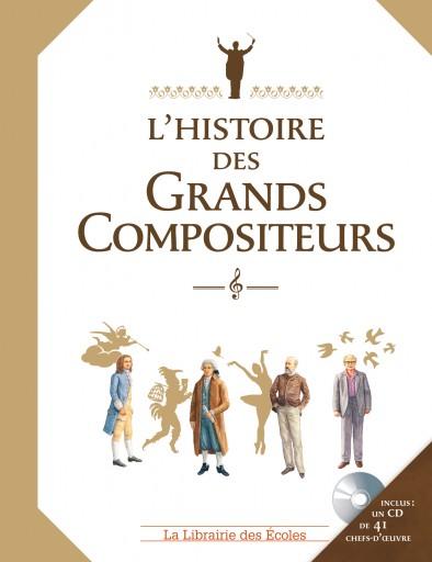 L'histoire des grands compositeurs_La librairie des écoles_Expressionsdenfants