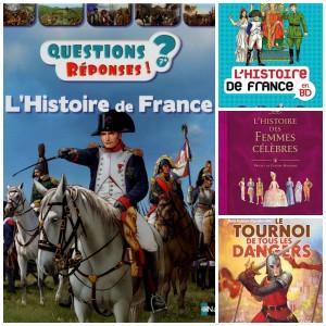 Des livres  pour les passionnés d'histoire