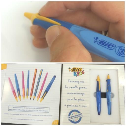 stylo-bille d'apprentissage Kids système twist_BIC_Fournitures_Expressionsdenfants