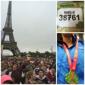 Courir La Parisienne sous la pluie…
