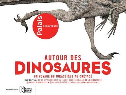 Paris automne 2015 - Autour des Dinosaures - Expressions d'Enfants