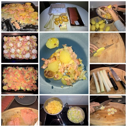 Cook'in the World_grattin de saumon_Expressions d'Enfants