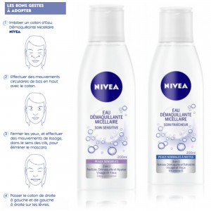 Eaux démaquillantes micellaires NIVEA [+Concours]