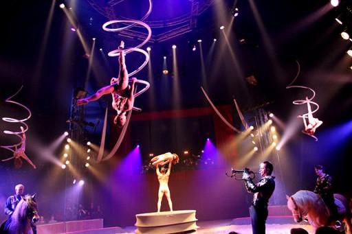 Pegase & Icare Cirque Alexis Gruss  Spectacle aérien_Expressionsdenfants