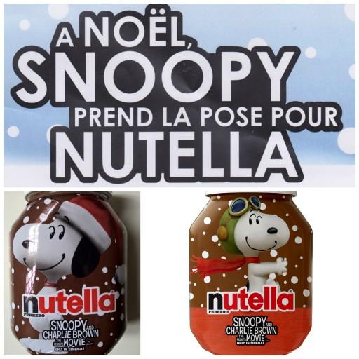 Snoopy et les Peanuts_Nutella_Expressionsdenfants