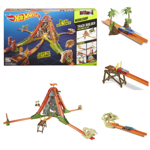 Piste Vulcano_Hot Wheels_Liste-de-Noël_Action_Expressionsdenfants