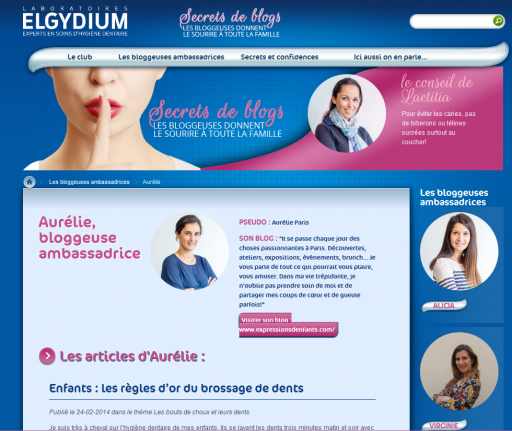 Page Secrets de blogs_Elgydium_Expressionsdenfants