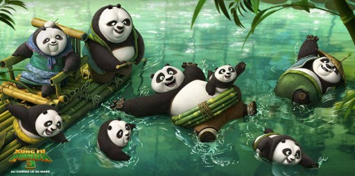 Kung Fu Panda_Les Pandas_Expressionsdenfants