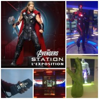 Exposition Marvel Avengers STATION