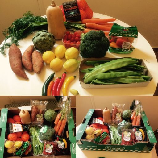 Bouquet_Panier Fruits et Légumes_Expressionsdenfants