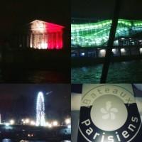 Bateaux Parisiens : croisière dîner sur la Seine
