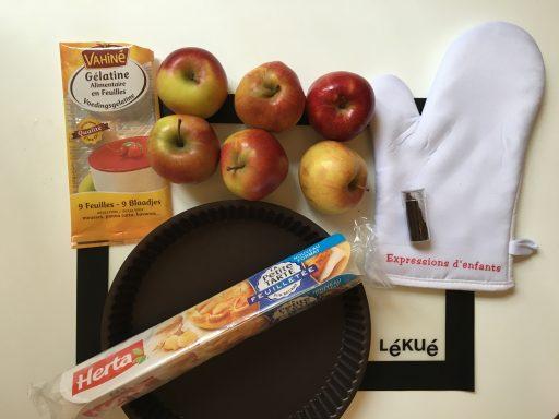 Ingrédients_tarte aux pommes_Défi Herta_Expressionsdenfants
