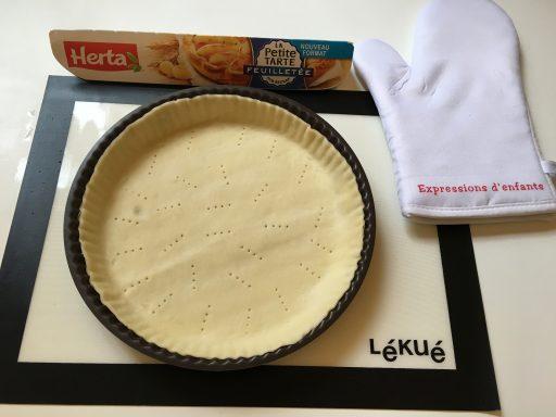 Pâte à tarte_Défi Herta_Expressionsdenfants