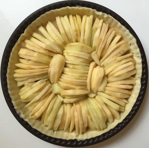 Tranches_tarte aux pommes_Défi Herta_Expressionsdenfants