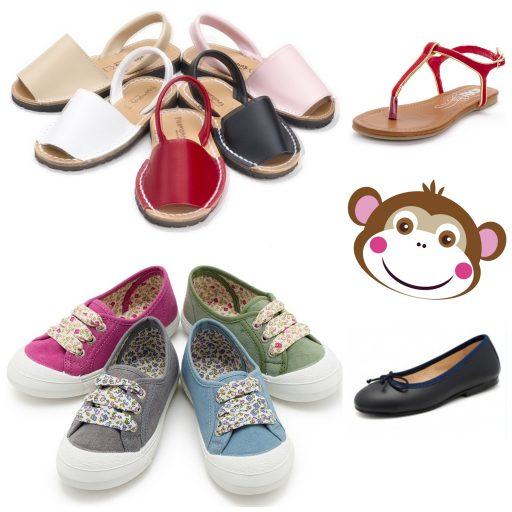 Pisamonas_Coups de coeur_été_chaussures_filles_Expressionsdenfants
