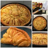 La tarte aux pommes de mon enfance