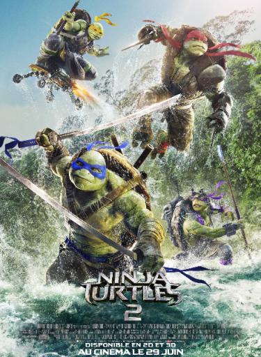 Affiche_Ninja Turtles 2_Expressionsdenfants