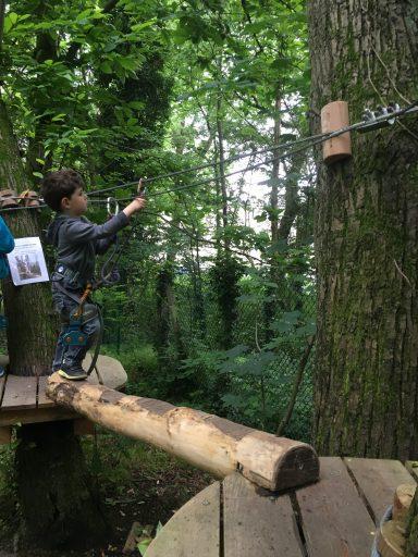 Accrobranche_Ecopark Adventures_Moulin de Sannois_Ligne de Vie_Expressionsdenfants
