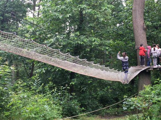 Accrobranche_Ecopark Adventures_Moulin de Sannois_ExpressionsdenfantsAccrobranche_Ecopark Adventure_Pont de Singe_Expressionsdenfants