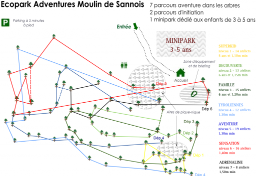 Parcours_Exopark Adventures_Moulin de Sannois_Expressionsdenfants