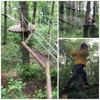 Accrobranche à l' Ecopark Adventures de Sannois