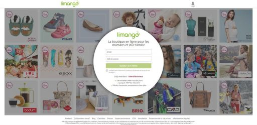 limango_accueil site_Cliente VIP_Expressionsdenfants