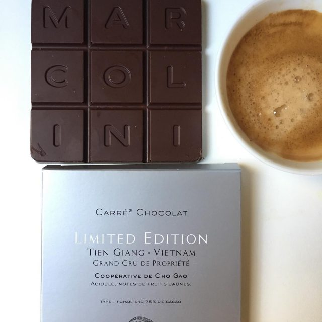 Un carr de chocolat exquis pierremarcolini