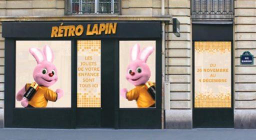 Rétro Lapin _Pop up Store_Expressionsdenfants