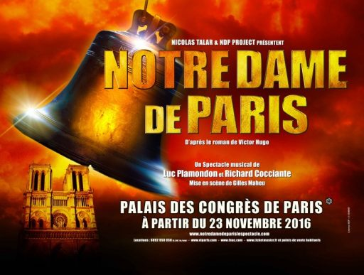 Notre Dame de Paris _ Affiche_ Expressionsdenfants