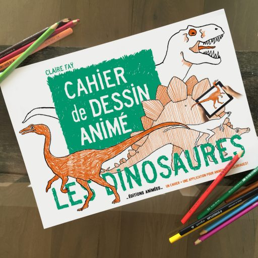 Cadeau Créatif _Cahier de dessin animé_Expressionsdenfants