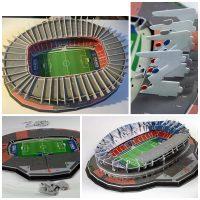 Fan de foot avec le stade 3D [+Concours]
