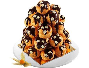 Mini-choux façon pièce montée_ Desserts _Toupargel_Expressionsdenfants