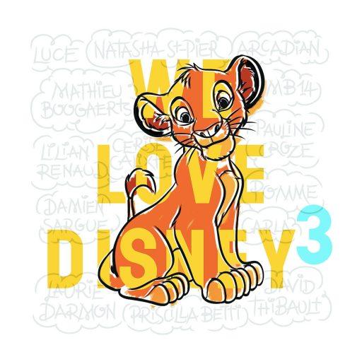 We Love Disney _Expressionsdenfants