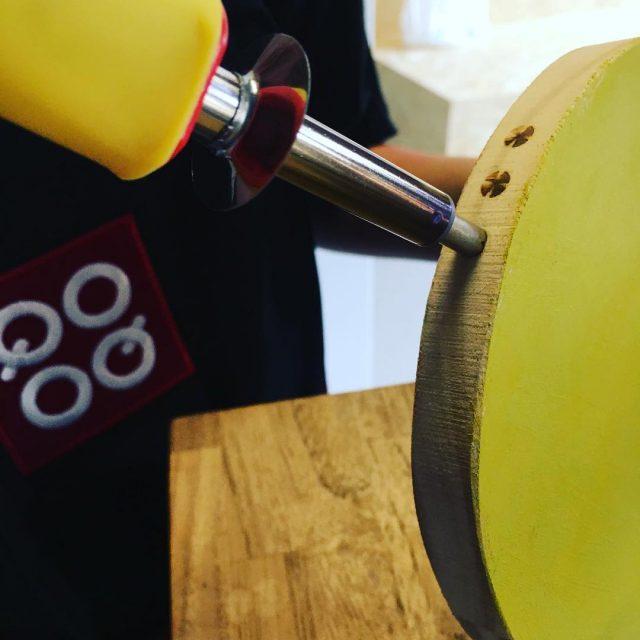 Atelier pyrogravure pour accueillir les Super cupcakes des enfants myqooqhellip