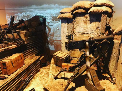 Musée de la Grande Guerre _Tranchée_Expressionsdenfants