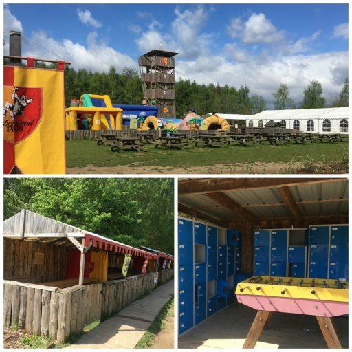 Sherwood Parc _Aire de Pique Nique_Structures gonflables_Expressionsdenfants