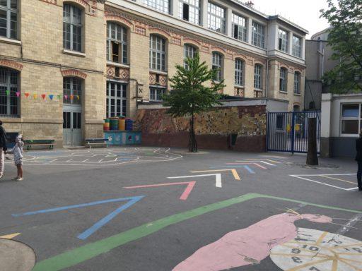 Cour école du colonel Moll_ Paris _Expressionsdenfants