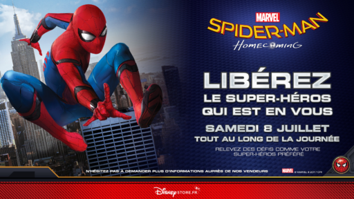 Evenement_ Spider-Man _Disney Store_Expressionsdenfants