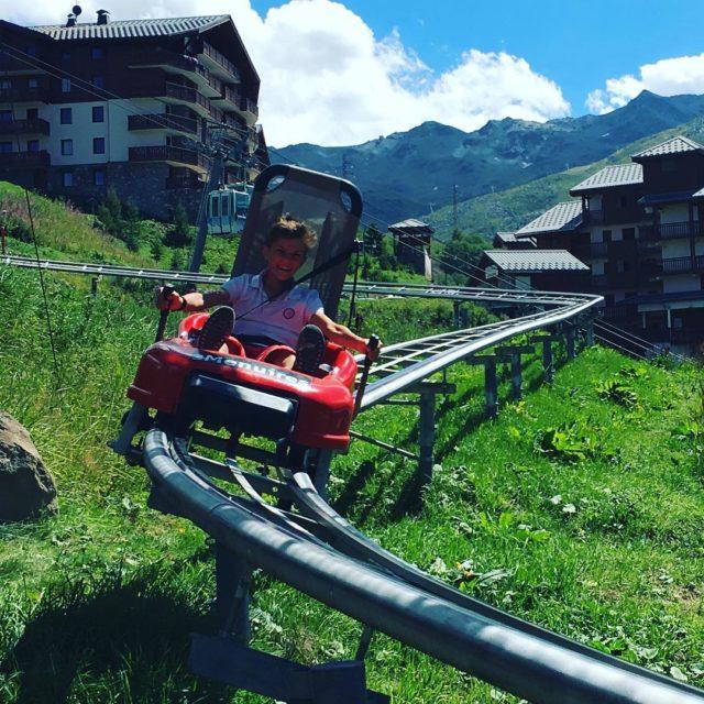 speedmountain pour notre dernier jour de vacances  la montagne