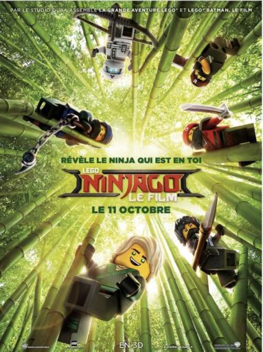 Lego Ninjago _Affiche_Expressionsdenfants