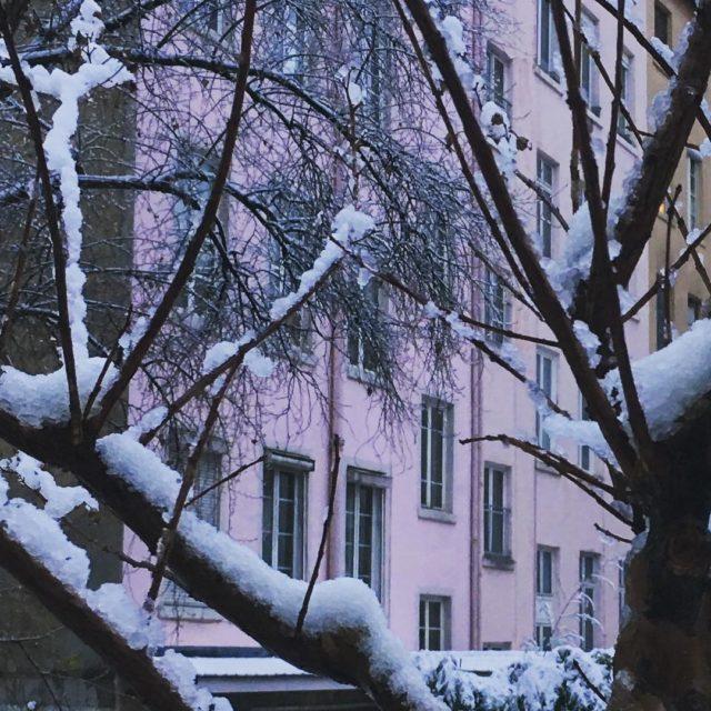 Neige sur Lyon ce matinx2744xfe0fx2603xfe0f Ct positif  Les enfantshellip
