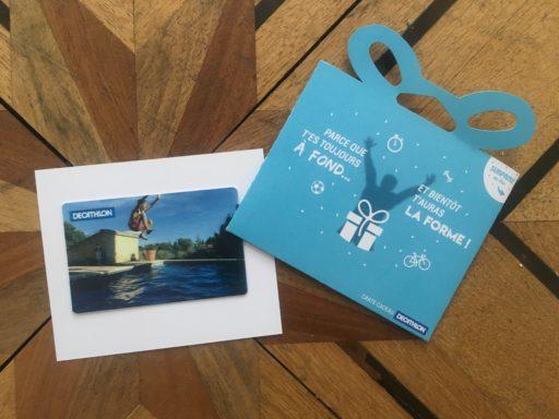 Carte cadeau Décathlon _Personnalisable_Expressionsdenfants