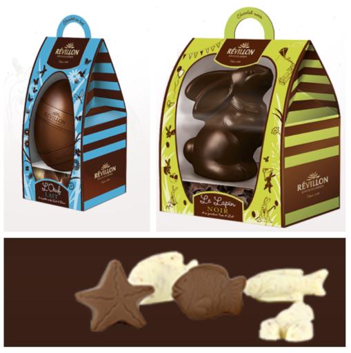 Chocolats de Pâques_ Révillon _Les moulages