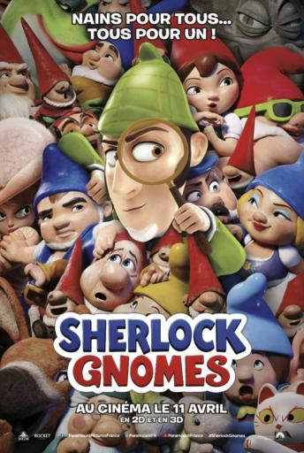 Sherlock Gnomes _Affiche_Expressionsdenfants