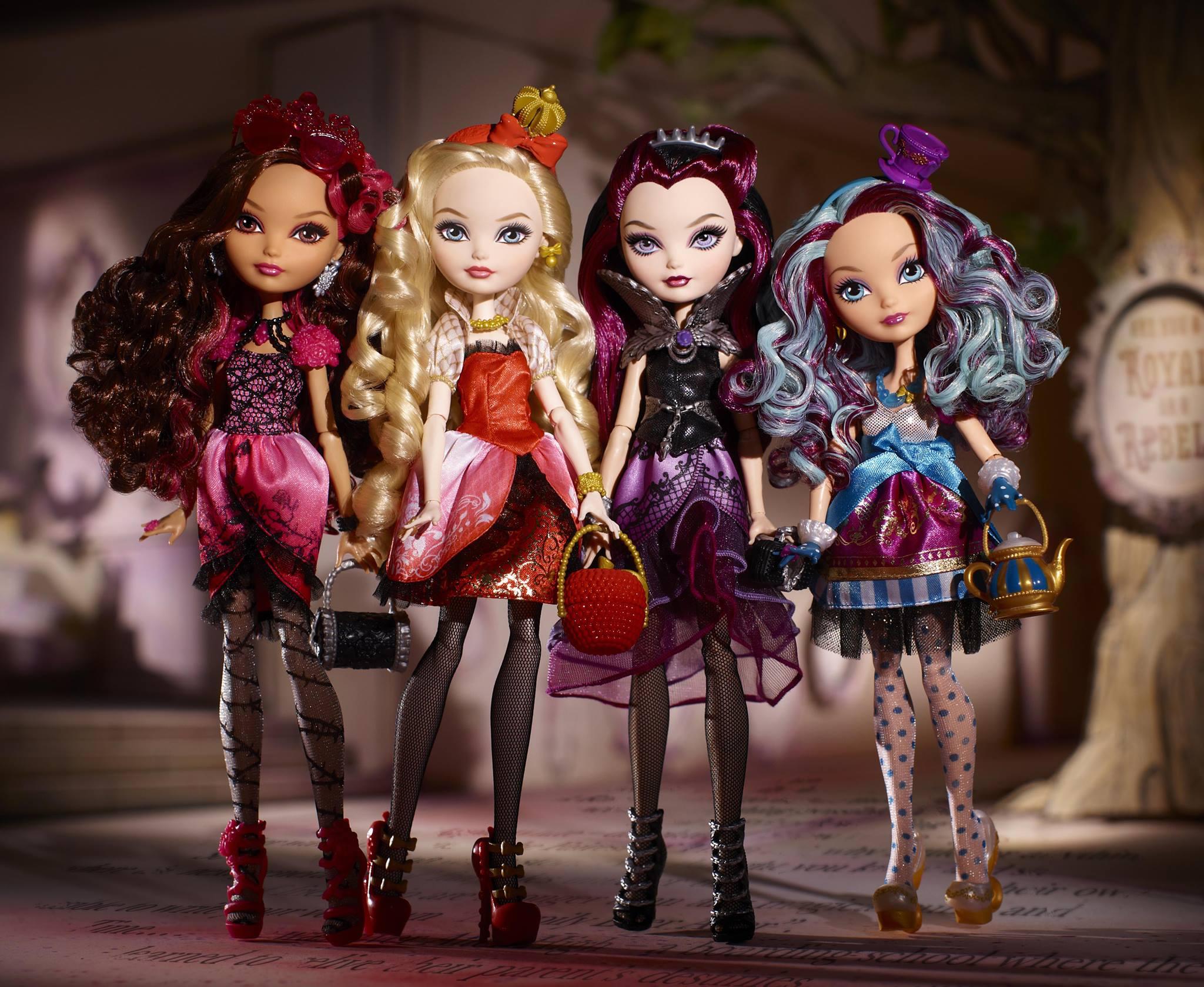 Ever After High, des poupées féériques