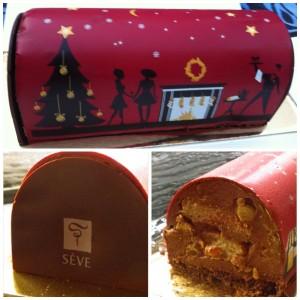 La bûche de Noël Taille de guêpe pour le plaisir