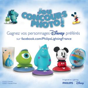 Disney illumine la chambre de Gaspard