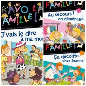 «Bravo la famille» collection jeunesse FLEURUS